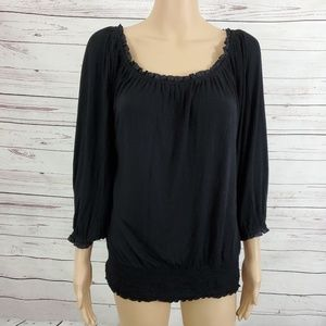 INC Blouse Size XL Black